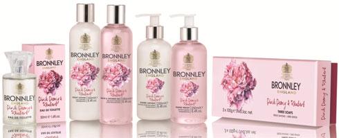 Bronnley Pink Peony and Rhubarb