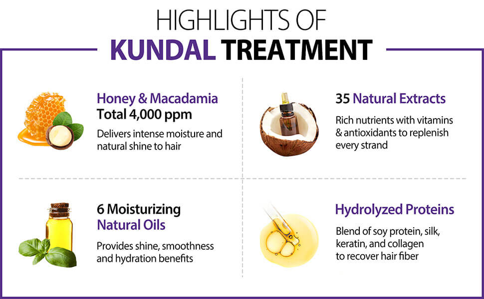 Kundal Honey & Macadamia Treatment White Musk