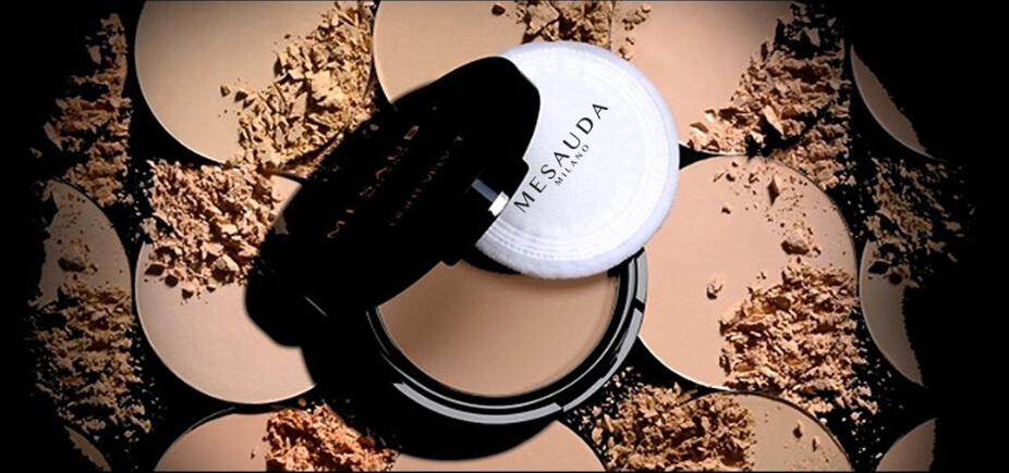Mesauda Milano Light Velvet Compact Powder
