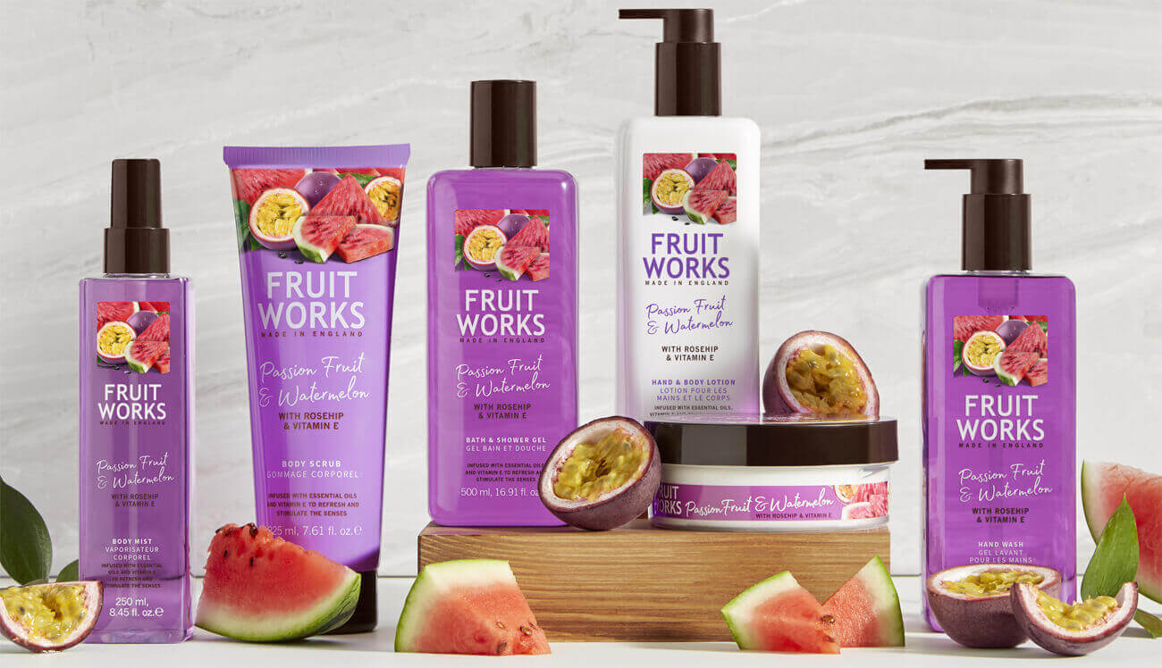 Grace Cole Fruit Works Passion Fruit & Watermelon