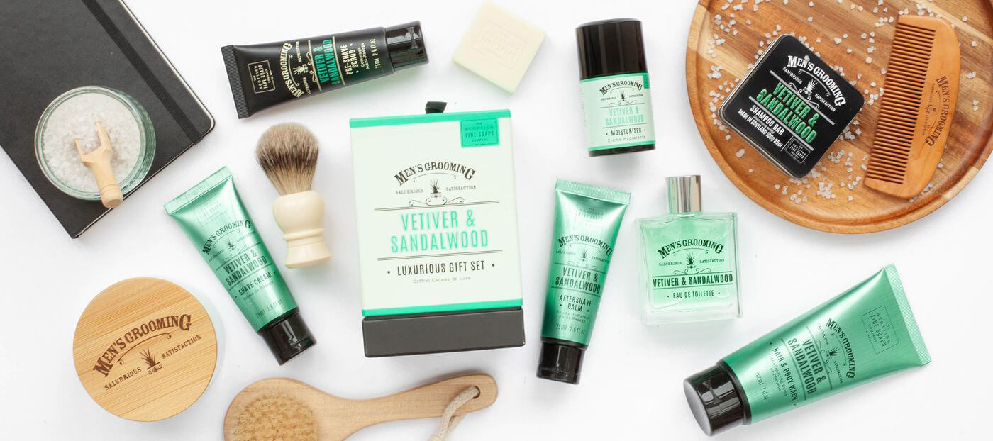 Scottish Fine Soaps Vetiver & Sandalwood
