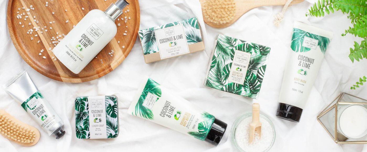 Scottish Fine Soaps Coconut & Lime