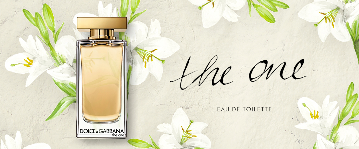 Dolce & Gabbana The One Eau de Toilette banner