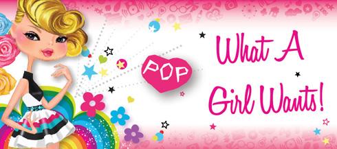 Markwins POP детски комплекти с грим