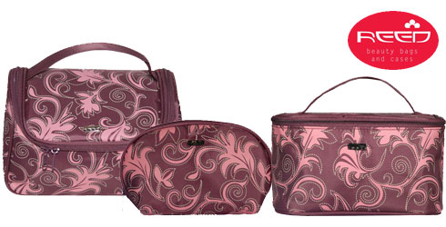Reed Розови Листа козметични несесери и чанти