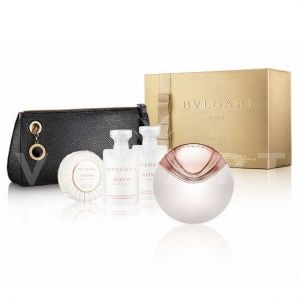 Bvlgari Aqva Divina Eau de Toilette 65ml + Body Milk 40ml + Shower Gel 40ml + Soap 50g + Несесер дамски комплект
