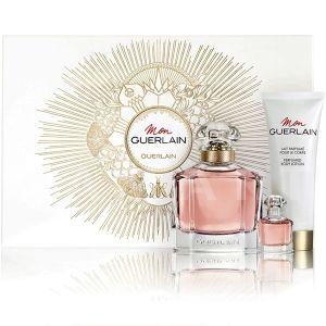 Guerlain Mon Guerlain Eau de Parfum 100ml + Eau de Parfum 5ml + Body Lotion 75ml дамски комплект