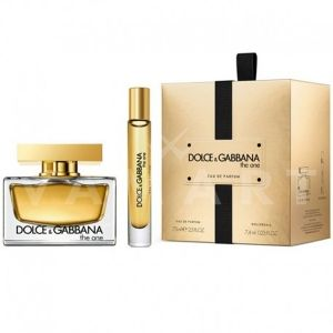 Dolce & Gabbana The One Eau de Parfum 50ml + Body Lotion 100ml + Eau de Parfum 7,4ml дамски комплект