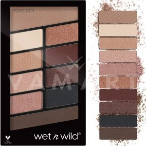 Wet n Wild Color Icon Eyeshadow 10 Pan Palette 757 Nude Awakening Палитра сенки за очи