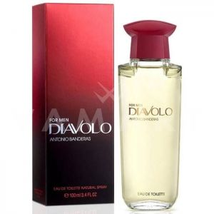 Antonio Banderas Diavolo for Men Eau de Toilette 100ml мъжки без кутия