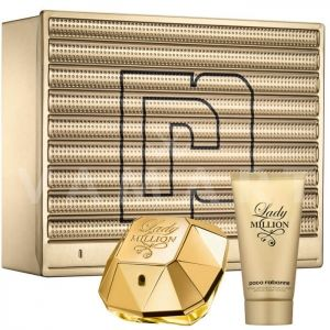 Paco Rabanne Lady Million Eau de Parfum 50ml + Body Lotion 75ml дамски комплект