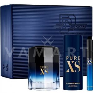 Paco Rabanne Pure XS for men Eau de Toilette 100ml + Eau de Toilette 10ml + Deodorant Spray 150ml мъжки комплект