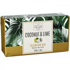 Scottish Fine Soaps Coconut & Lime Creamy Cleansing Bar 220g Сапун с кокосово масло