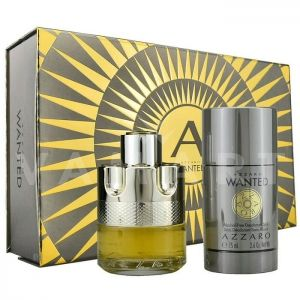 Azzaro Wanted Eau De Toilette 50ml + Deodorant stick 75ml мъжки комплект