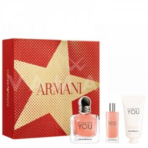 Armani In Love with You Eau de Parfum 50ml + Eau de Parfum 15ml + Perfumed Hand creme 50ml дамски комплект