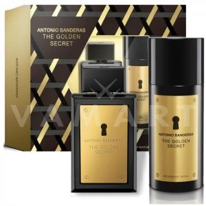 Antonio Banderas The Golden Secret Eau de Toilette 50ml + Deodorant spray 150ml мъжки комплект
