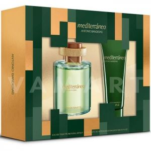 Antonio Banderas Mediterraneo Eau de Toilette 100ml + After Shave Balm 75ml мъжки комплект