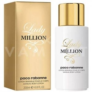 Paco Rabanne Lady Million Body Lotion 200ml дамски