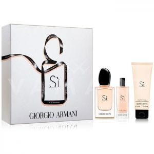 Armani Si Eau de Parfum 50ml + Eau de Parfum 15ml + Shower Gel 75ml дамски комплект