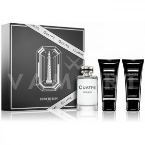 Boucheron Quatre Pour Homme Eau de Toilette 100ml + After Shave Balm 100ml + Shower gel 100ml мъжки комплект