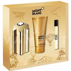 Mont Blanc Emblem Absolu Eau de Toilette 100ml + Eau de Toilette 7,5ml + Shower Gel 100ml мъжки комплект
