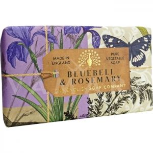 The English Soap Company Anniversary Collection Bluebell and Rosemary Луксозен растителен сапун 200g