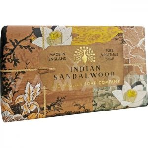 The English Soap Company Anniversary Collection Indian Sandalwood Луксозен растителен сапун 200g