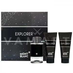 Mont Blanc Explorer Eau de Parfum 100ml + After Shave Balm 100ml + Shower gel 100ml мъжки комплект