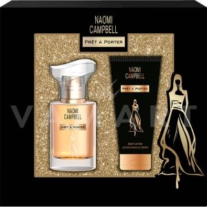 Naomi Campbell Pret a Porter Eau de Toilette 15ml + Body Lotion 50ml Дамски комплект