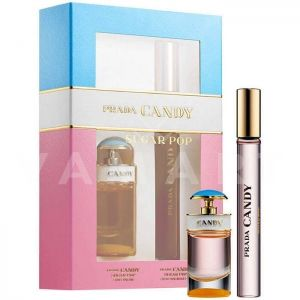 Prada Candy Sugar Pop Eau de Parfum 7ml + Eau de Parfum 10ml дамски комплект