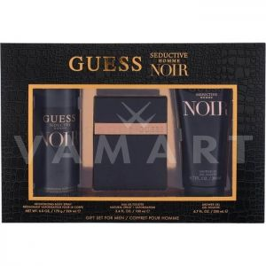Guess Seductive Noir Homme Eau de Toilette 100ml + Shower Gel 200ml + Deodorant Spray 226ml мъжки комплект