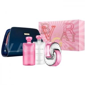 Bvlgari Omnia Pink Sapphire Eau de Toilette 65ml + Shower gel 75ml + Body Lotion 75ml + Несесер дамски комплект
