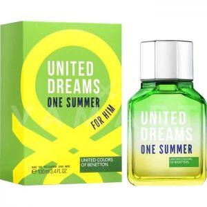 Benetton United Dreams One Summer Eau de Toilette 100ml мъжки без опаковка