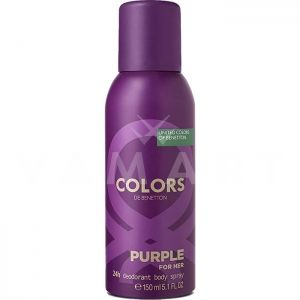 Benetton Colors Purple Deodorant