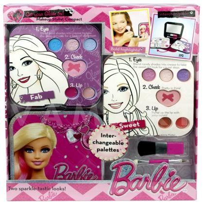 Markwins Barbie Блясък всеки ден Детски козметичен комплект