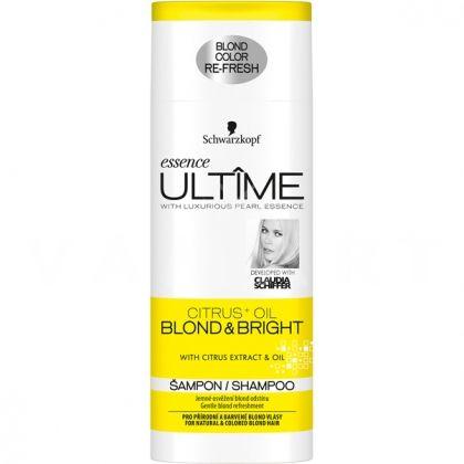 Schwarzkopf Essence Ultime Citrus+ Oil Blond & Bright Шампоан за естествено руса и изрусена коса 250ml