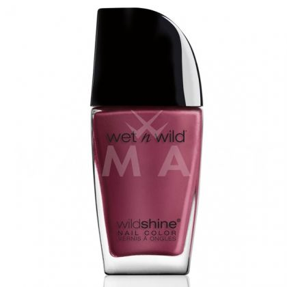 Wet n Wild Wild Shine Лак за нокти 487 Grape Minds Think Alike
