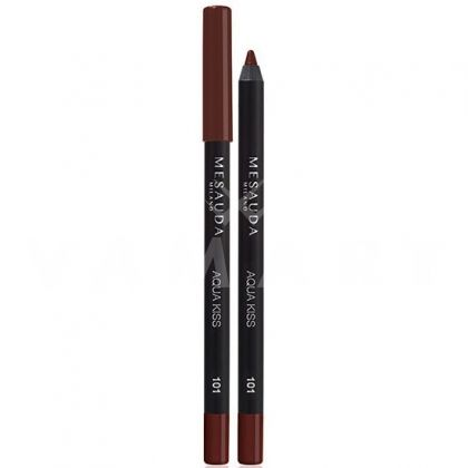 Mesauda Milano Aqua Kiss Waterproof Молив за устни 101 Brown