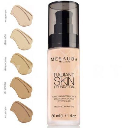 Mesauda Milano Radiant Skin Foundation Фон дьо тен с хиалуронова киселина 303 Medium Beige