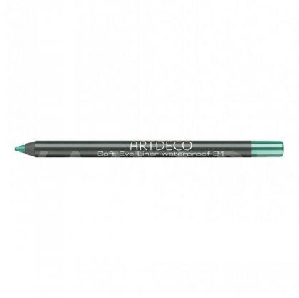 Artdeco Soft Eye Liner waterproof Водоустойчив молив за очи 21 shiny light green