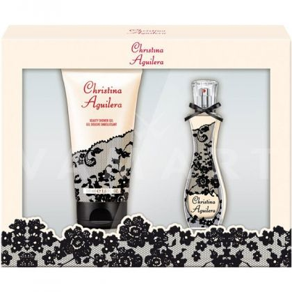 Christina Aguilera Eau de Parfum 30ml + Shower Gel 150ml дамски комплект