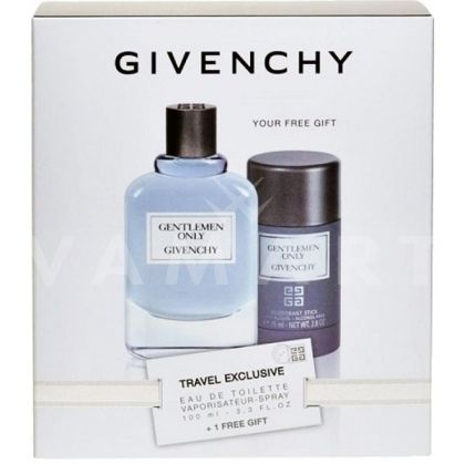 Givenchy Gentlemen Only Eau de Toilette 100ml + Deodorant Stick 75ml мъжки комплект