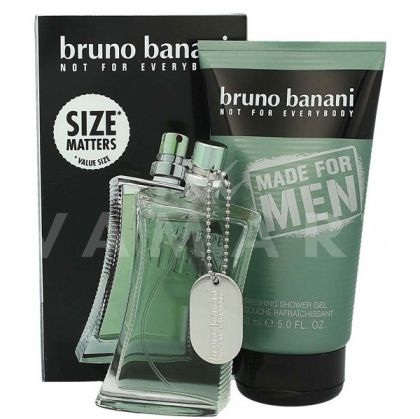 Bruno Banani Made for Men Eau de Toilette 50ml + Shower Gel 150ml мъжки комплект
