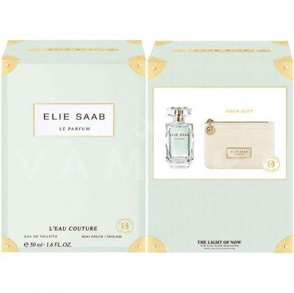 Elie Saab Le Parfum L'Eau Couture Eau de Toilette 50ml + Несесер дамски комплект