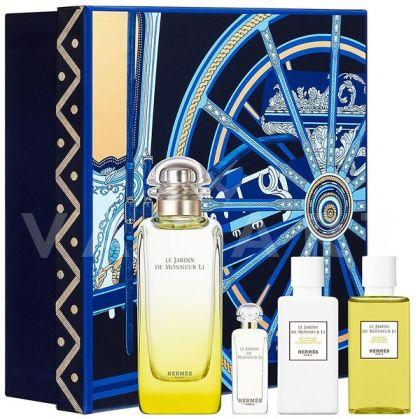 Hermes Le Jardin de Monsieur Li Eau de Toilette 100ml + Body Lotion 40ml + Shower Gel 40ml + Eau de Toilette 7,5ml унисекс комплект