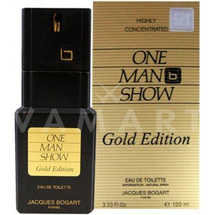 Bogart One Man Show Gold Edition Eau de Toilette 100ml мъжки без опаковка