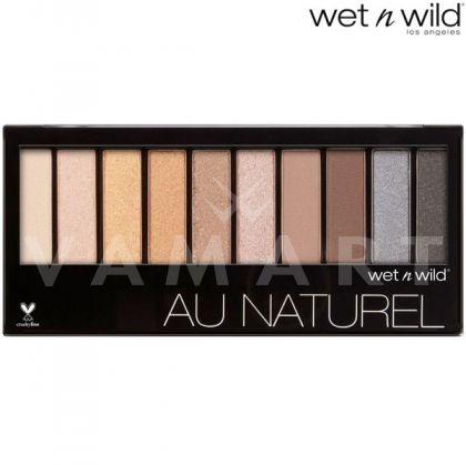 Wet n Wild Au Naturel Palette 753 Bare Necessities Палитра сенки