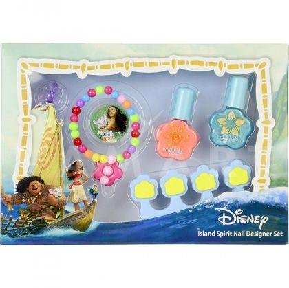 Markwins Disney Moana Island Spirit Nail Designer Set Детски козметичен комплект