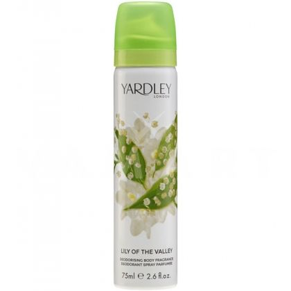 Yardley London Lily of the Valley Deodorant Spray 75ml дамски