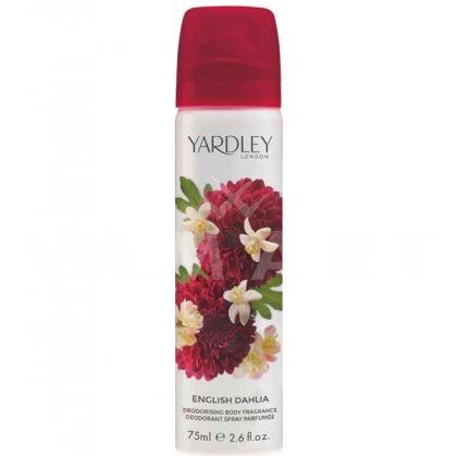 Yardley London English Dahlia Deodorant Spray 75ml дамски